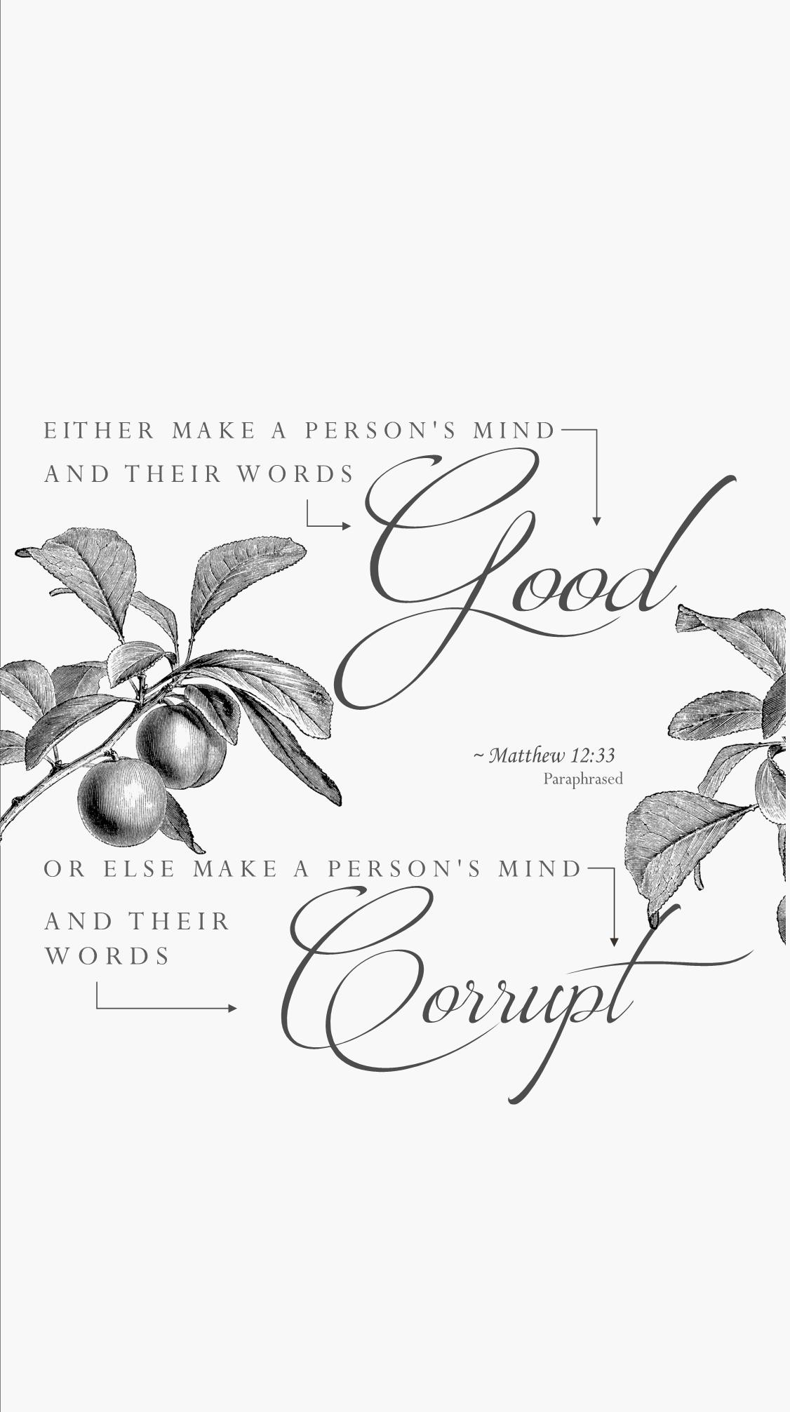 Good Words Wallpaper